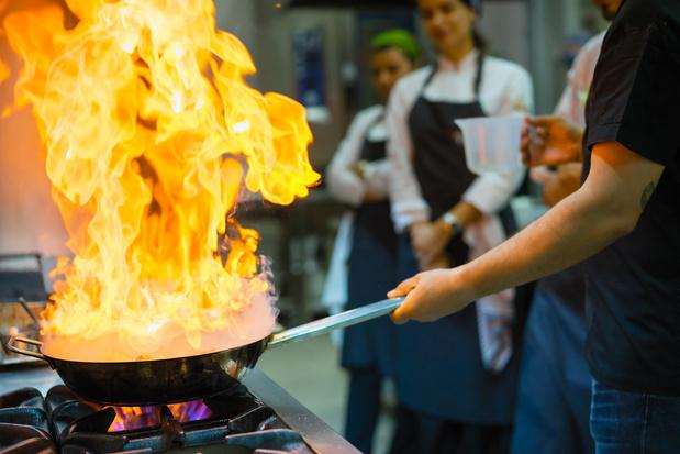 Hell's Kitchen: sterrenchefs geven experimentele kookworkshops in artistieke setting