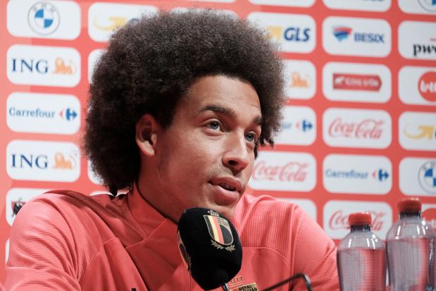 Axel Witsel conseille aux jeunes joueurs de ne pas quitter trop vite la Belgique