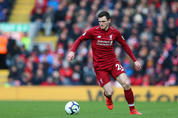 Andy Robertson, the warrior