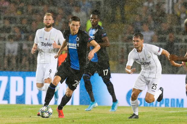 Club Brugge gaat op een diefje winnen in Linz