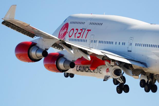 Virgin lanceert raket met satellieten vanaf Boeing 747