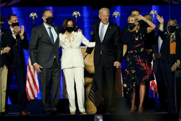 Joe Biden: 'Ik ben een trotse Democraat, maar zal regeren als Amerikaanse president'