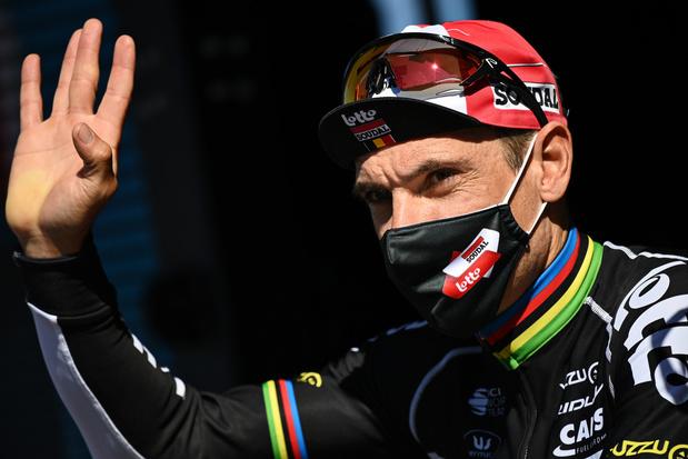 Philippe Gilbert annonce la fin de sa carrière pour 2022