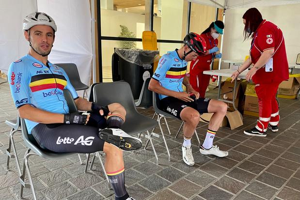 WK wielrennen: Team Belgium droomt in gemengde aflossing van medaille