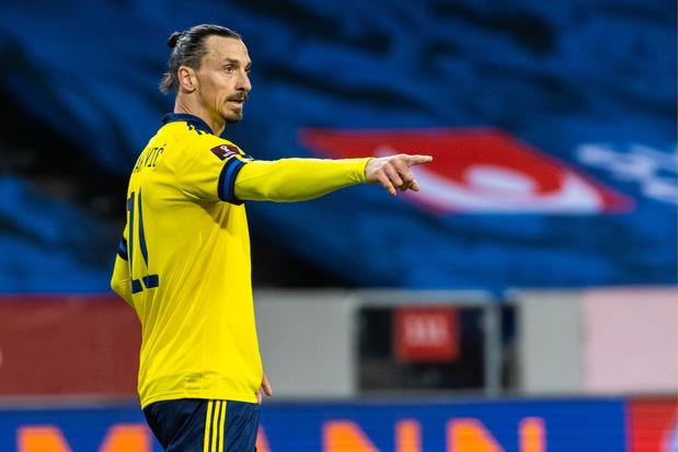 39-jarige Zlatan Ibrahimovic voelt zich weer even 'debutant' in Zweeds elftal