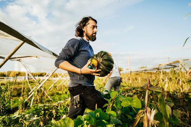 Students for Climate voeren actie voor duurzame voedselproductie