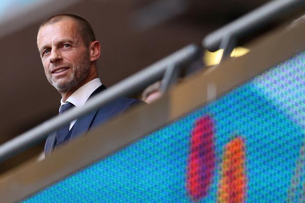 UEFA-voorzitter Ceferin haalt EK-format onderuit: 'Denk niet dat we dit nog zullen doen'