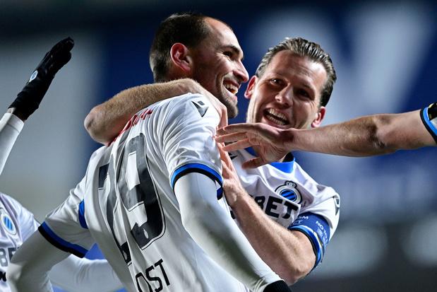 Bas Dost scoort bij debuut voor Club Brugge in zege tegen Sint-Truiden