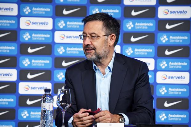 Barcelona-voorzitter Bartomeu stapt op