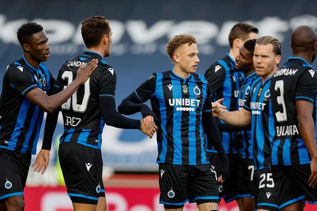 Club Brugge vlot voorbij Zulte Waregem na 3-0-zege