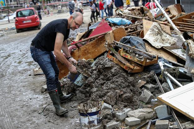 Inondations: la Croix-Rouge a déjà récolté 30 millions d'euros