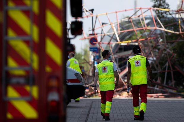 Anvers: le corps d'une cinquième victime sorti des gravats