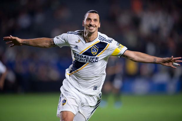 Un triplé permet à Ibrahimovic de battre un record au LA Galaxy