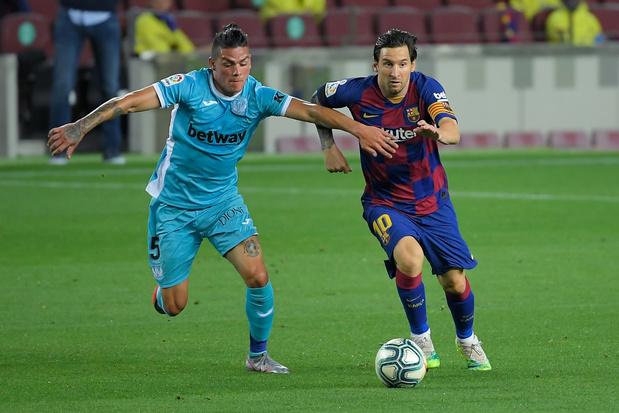 Spaans voetbal trok al 48% meer kijkers aan, stijging van 130% in België