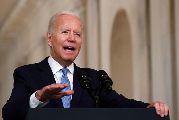 Biden verdedigt terugtrekking uit Afghanistan: 'We hadden de keuze tussen vertrekken en escaleren'