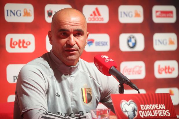 """Roberto Martinez espère que le retour du public """"sera un avantage"""" contre la Tchéquie"""