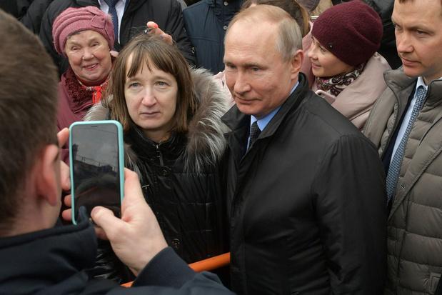 Poetin: 'Rusland kan geen jaar zonder een regering zoals België'