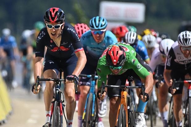 Dauphiné: Geraint Thomas verrast sprinters in vijfde etappe