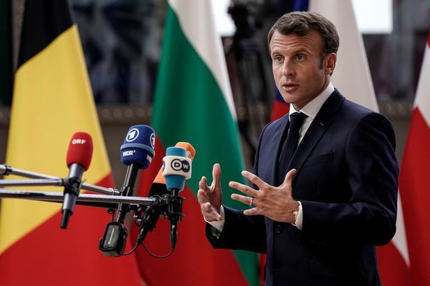 """UE: Macron veut sortir du Conseil avec la """"nouvelle équipe"""" pour les postes clés"""