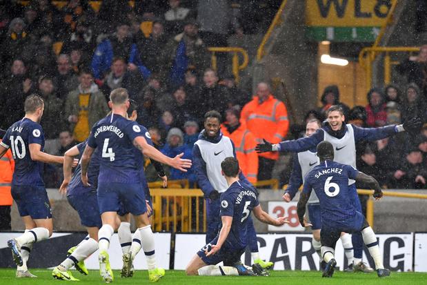 Vertonghen offre la victoire à Tottenham à Wolverhampton (vidéo)