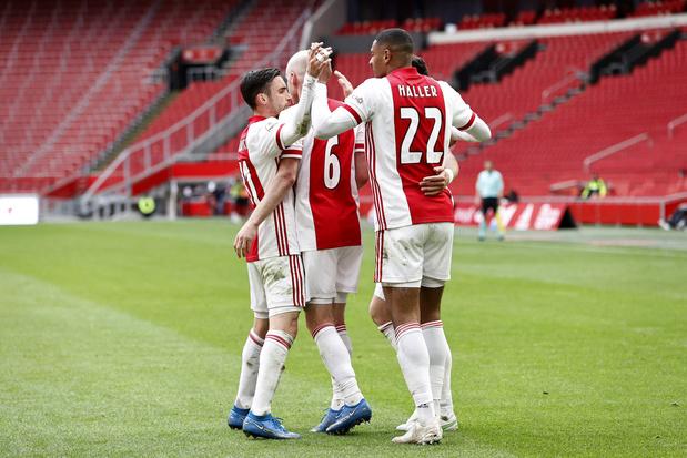 L'Ajax décroche un 35e titre de champion des Pays-Bas