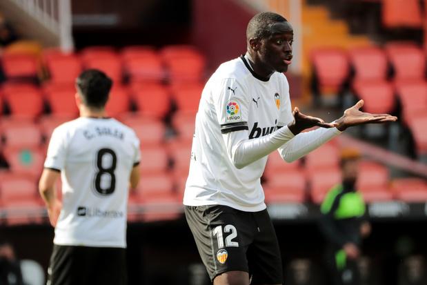 La Liga vindt geen bewijzen van racisme tegen Valenciaspeler Diakhaby