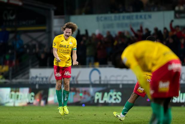 AA Gent verliest in Oostende en blijft derde