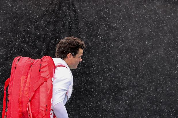 Eerste dag Australian Open valt in het water: Belgische matchen verplaatst naar dinsdag door regen