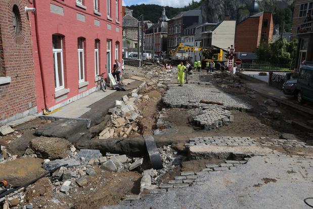 Liège et Namur : deux inondations, un même cauchemar, des profils bien différents