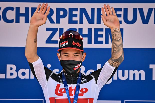 Tour de Belgique: la 4e étape revient aussi à Caleb Ewan