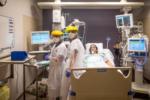 Les soins intensifs n'ont jamais eu autant de patients Covid depuis le début de l'épidémie