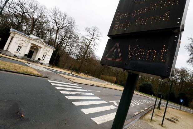 La Belgique en alerte à l'approche de la tempête Ciara