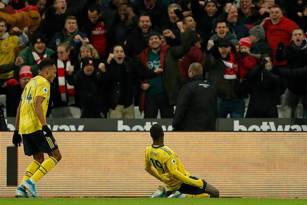 Avant d'aller au Standard, Arsenal gagne après 9 rencontres sans victoire