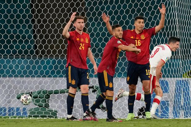 Euro 2020: l'Espagne court toujours après un succès après son partage contre la Pologne