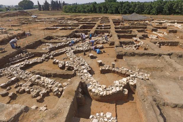 Découverte d'une ville historique du Proche-Orient datant de l'âge du Bronze