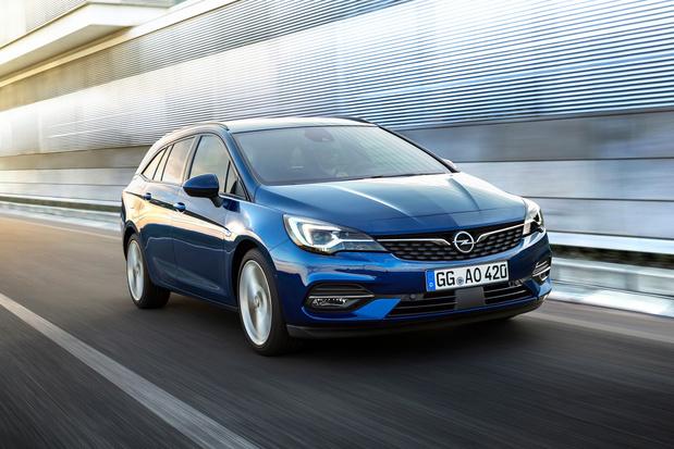 Nieuwe Opel Astra verzorgt zijn aerodynamica