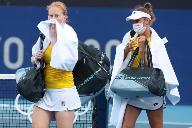 Elise Mertens et Alison Van Uytvanck éliminées dès le premier tour en double
