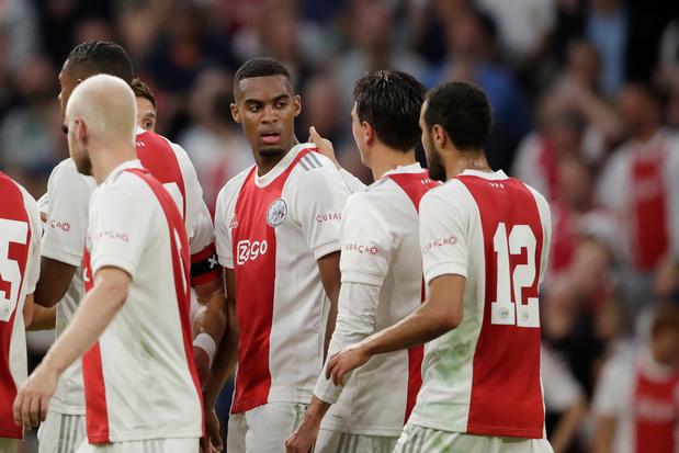 Ajax steekt weer een tandje bij