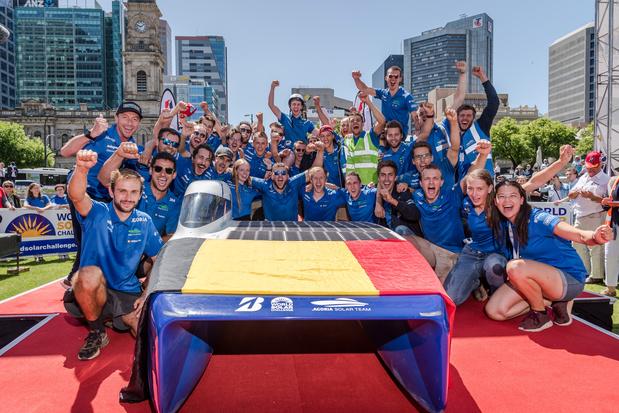 Ces innovations ont aidé la voiture solaire belge à remporter le World Solar Challenge