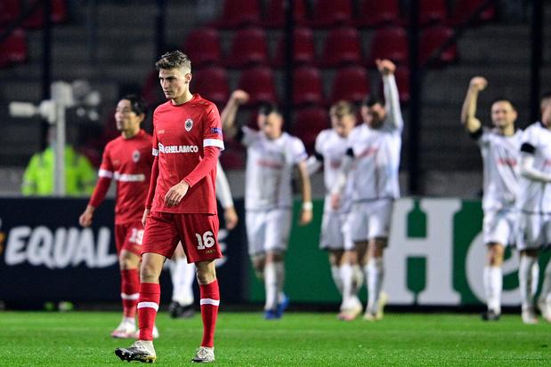 Europa League: Belgische clubs stellen teleur met drie nederlagen