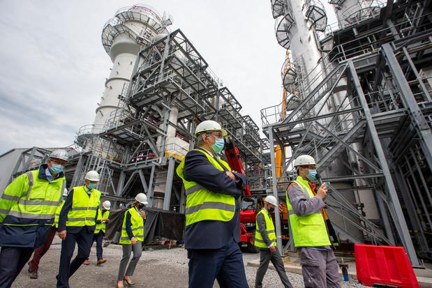 ArcelorMittal va investir 1,1 milliard d'euros pour décarboniser son site de Gand