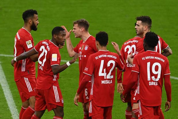 Le Bayern Munich champion d'Allemagne pour la 9e année consécutive