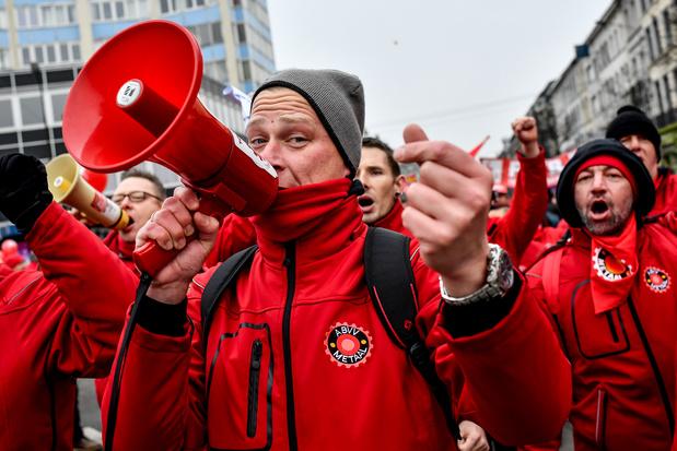 Manifestation nationale de la FGTB ce vendredi: elle veut réviser la loi sur la marge salariale