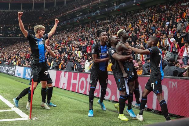 Diatta libère Bruges face au Galatasaray