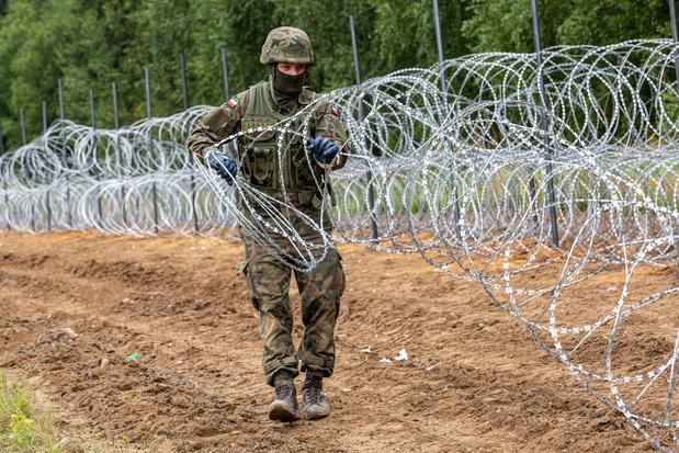 Poolse parlement geeft groen licht voor bouw barricade aan grens met Wit-Rusland