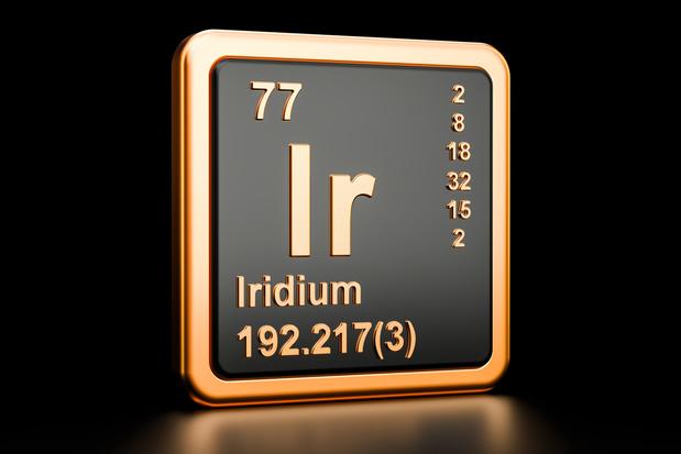 Métal rare et cher, l'iridium se fait désirer