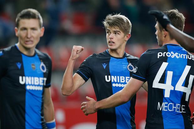 Coupe de Belgique: le Club Bruges décroche sa place en finale