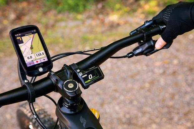 EN ROUTE AVEC LE GPS MIO CYCLO