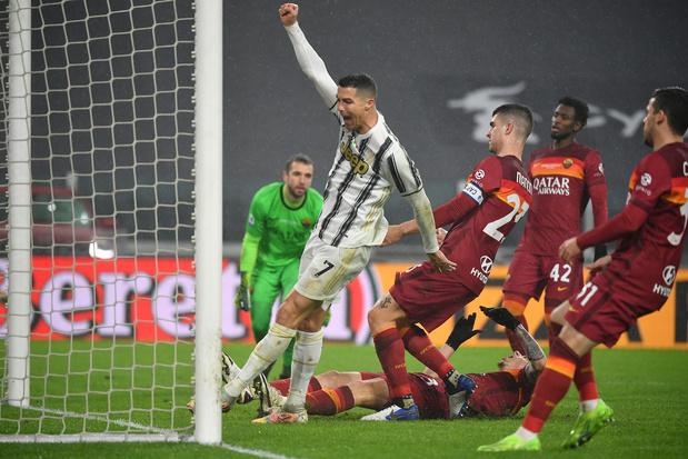 La Juventus domine la Roma pour prendre la 3e place