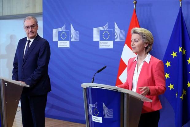 Geen akkoord tussen EU en Zwitserland